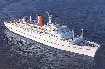 Liverpool Ships The Empress Of Canada Of 1961 Was The Last